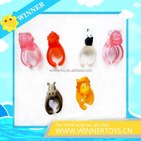Animals 3d plastic wholesale cartoon finger ring