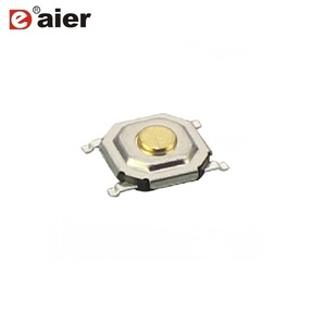 5.2*5.2*1.5 SMD 4 Pin Tact Switch