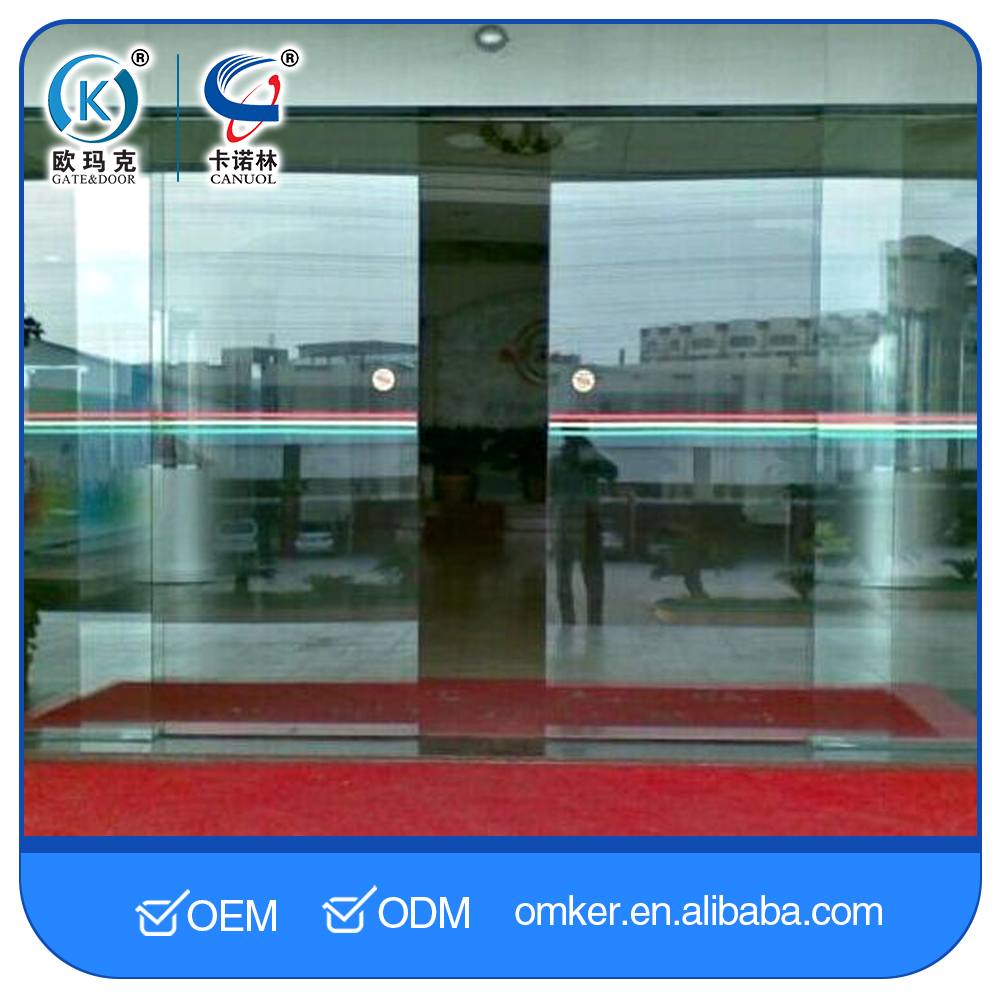 Aluminium Garage Sliding Interior Screen Net Glass Sliding Doors With Remote Control
