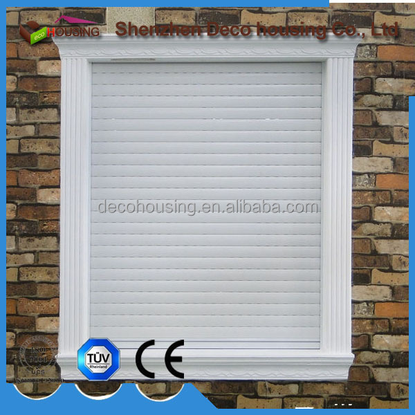 Europe style PU foam aluminum electric insulated roller shutter