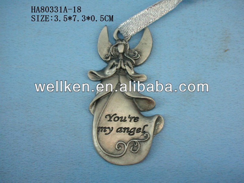 zinc alloy christmas ornaments,metal christmas souvenirs