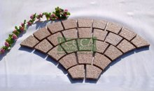 Paver bricks,G682 granite,net pasted cobble stone.