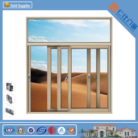 New Design Beautiful Luxury Sliding Service Windows for CE