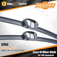 Hot selling products Special auto frameless front soft flat aero Wiper blade fit for VW Touareg od