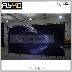 Flexible Led Curtain, Flexible Led screen, Flexible Led display