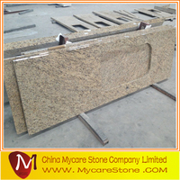 Mycare Giallo Ornamental Precut Granite kitchen Countertop