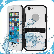 special offer Red pepper Dot series Waterproof Shockproof Dirt Snow Proof Durable Case Cover with barcket For iPhone 6 4.7