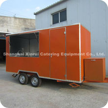 2013 Customized Mall Food Kiosk Design for Food ,Coffee, Bubble Tea and Potato XR-FV400 A