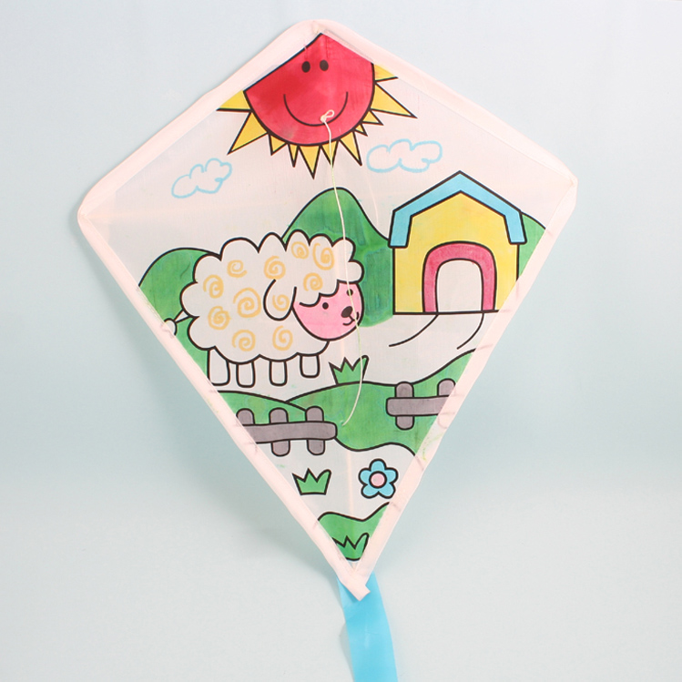 DIY color your own kite