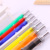 Office & School fashion style raw material logo ball pen stationery multicolor pen with durable quality for souvenir