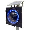 300mm full-ball and directional arrow wireless solar traffic light controller