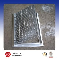 duty heavy /Non Slip /hot -dipGalvanized Grating Steel