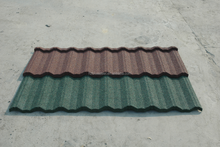 Long Life Nosen Tile Stone Chip Coated Metal Roof Tile Sheet For Sale