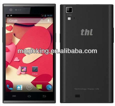 New arrival 5inch THL T100S MTK6592 Cota core 1.7Ghz 2GB 32GB