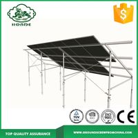 Ground Screw Solar Panel Mounting Kits /Solar Racking System