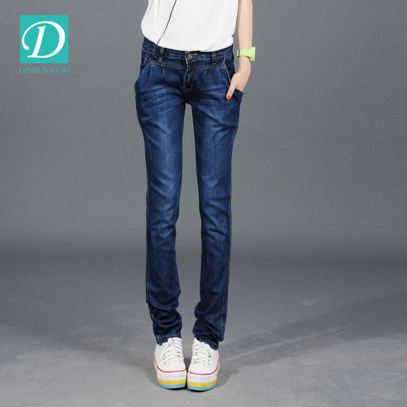 women slim fit denim skinny jeans for wholesale