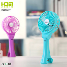 2018 Hot Sale Quiet Design Summer china battery operated rechargeable mini handheld usb mini clip air cooling fan