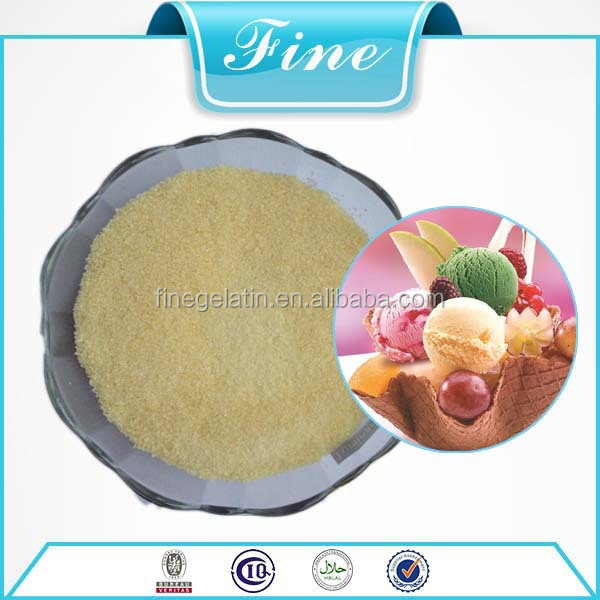Top Quality Food Grade /Ice Cream Gelatin