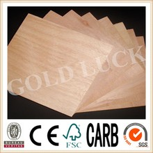 Qingdao Gold Luck Okoume Plywood Board 16mm