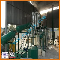 New technology small--scale waste car/truck/marine engine oil refinery for diesel oil ! JNC china waste oil recovering machine