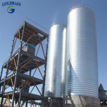 Low price bolt silo for food feed and grain