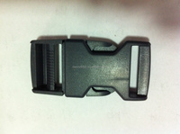 High quality bag accessories black plastic belt buckles(DN-26X)