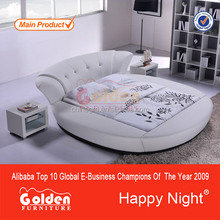 Foshan Goden Furniture circle shaped beds (6820#)