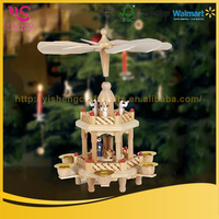 China Wholesale High Quality wood christmas ornaments
