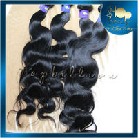 Natural color 100% unprocessed wholesale virgin quick delivery hair extension