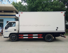 China factory direct sale Thermo King cooling system high quality JMC 12 CBM 5T cargo van refrigerated truck