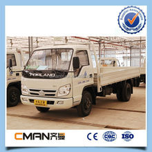 double axle 4x4 3 tons lorry truck sale suitable for bad roads environment