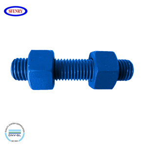 Fenry Metric Supplier Xylan Teflon PTFE Coating A193 Grade B7 Stud Bolt And Hex Nut