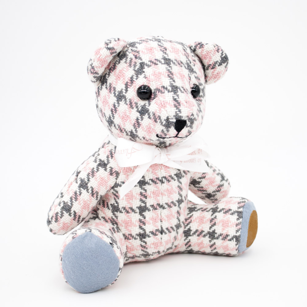 Plush plaid colorful lovely teddy bear toy stuffed pp cotton funny soft bear doll gifts