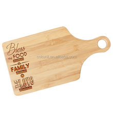 Custom Personalized Family Cutting Board for Engagement Gift