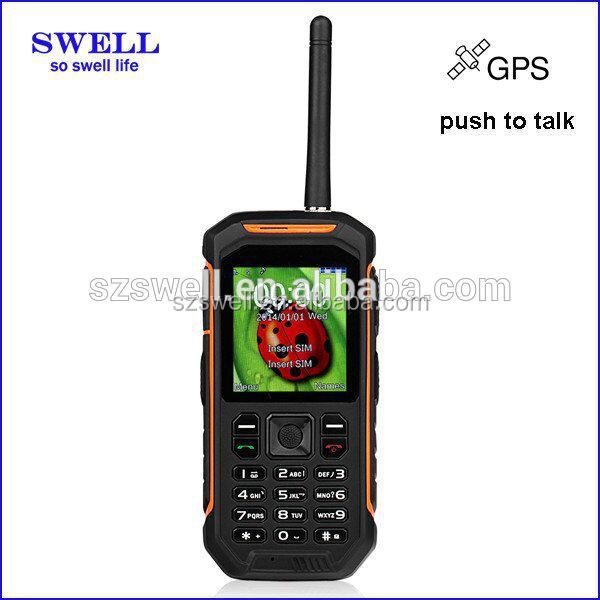 waterproof dustproof mobile phoen 2.4inch android pos terminal 3G FM dual sim IP67 cellphone X6