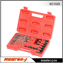 25 PCS Screw Extractor/ Drill and guide kit motorcycle shop tools