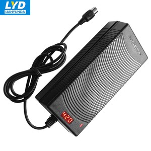13s 54.6v 2a lithium ion battery charger for electric bicycle/scooter/segway trike