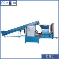 Factory direct sales hydraulic aluminum can baling press olive oil tin cans baler