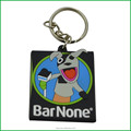 Directly factory custom PVC promotion keychain for giftware