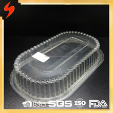 PET Packaging Food Grade Disposable Tray with Lid
