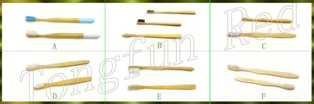 Wholesale toothbrush holder 100% Biodegradable bamboo / wooden toothbrush