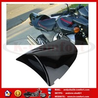 KCM436 Black Motorcycle Rear Seat Cover Cowl For Kawasaki ZX6R 2003-2004 Z750 Z1000 2003-2006