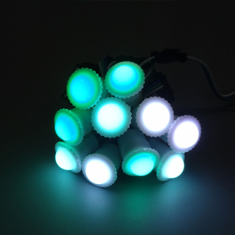 High brightness energy saving dmx Christmas bulk LED pixel light