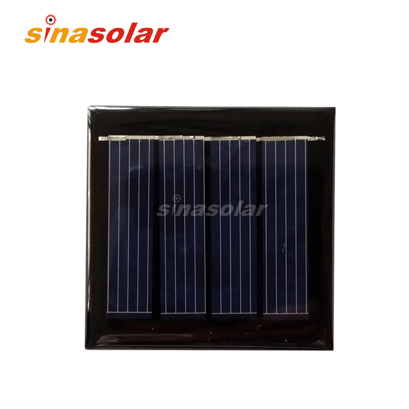 2V 120mA Polycrystalline Mini Epoxy Resin Solar Panel For Electronic DIY 54x54mm 0.24W