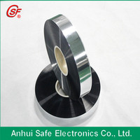 Znic-Aluminue Plastic with heavy edge Metallized capacitor thin film