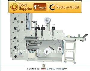 NEW sticker label die cutting and printing machine