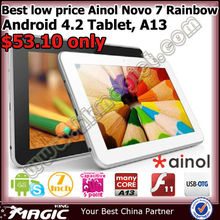 2013 New Ainol brand download android 4.2 tablet pc