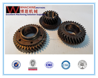 Top Quality Custom helical gear made by whachinebrothers ltd.