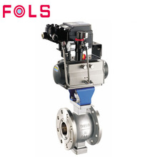 Professional Manufacturer Stainless Steel Pneumatic Flange Ball Valve