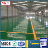 water-based scratch resistant epoxy Concrete floor coating